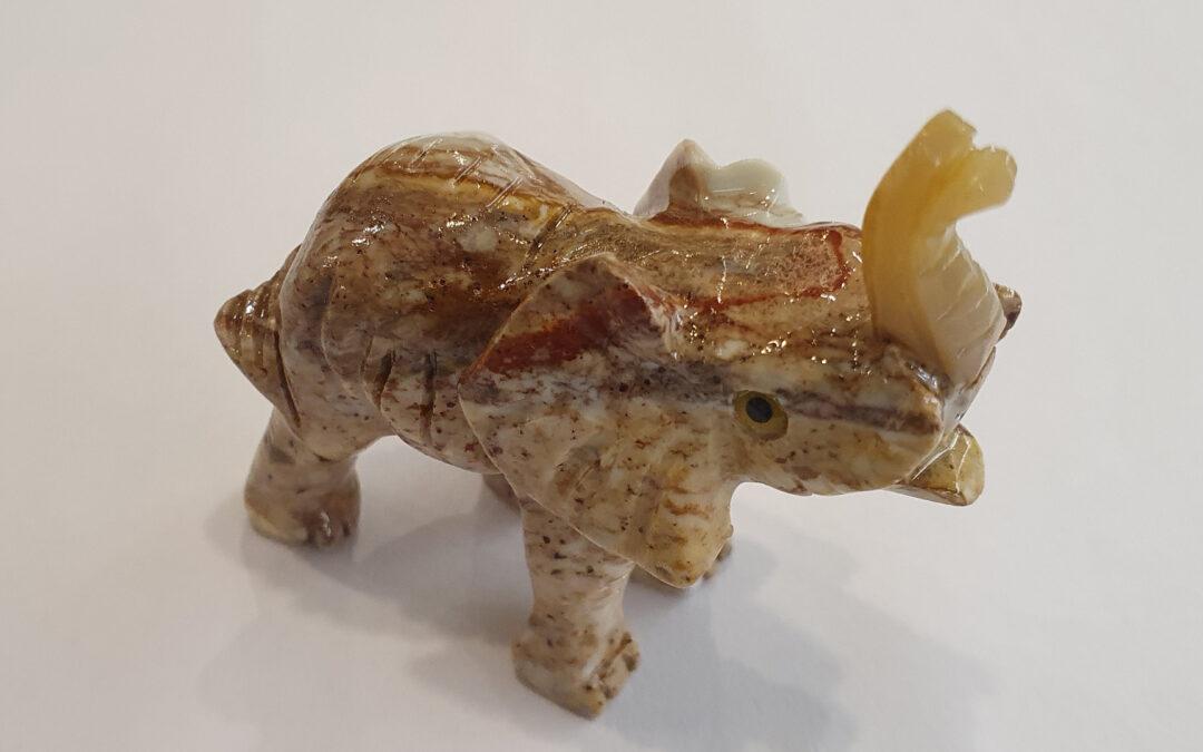 Elefant Speckstein